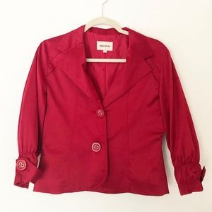 Maestro Silky Red Size Small Jacket